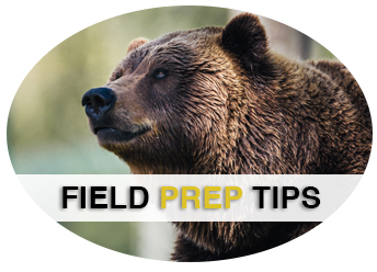 Field Prep Tips and Assorted Instructions